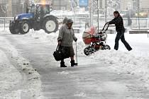 Sníh v Liberci
