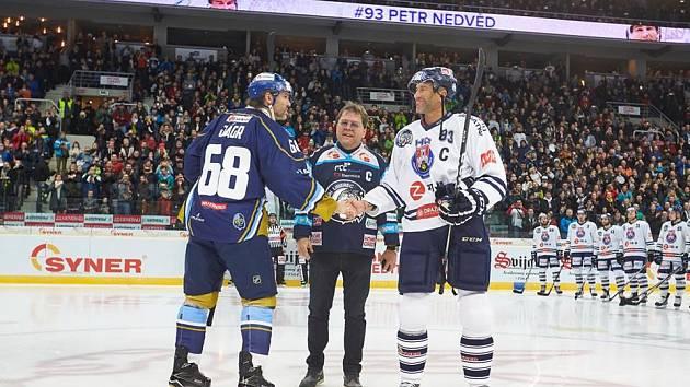 Utkání 46. kola WSM ligy ledního hokeje se odehrálo 3. února v liberecké Home Credit areně. Utkaly se celky HC Benátky nad Jizerou a Rytíři Kladno.