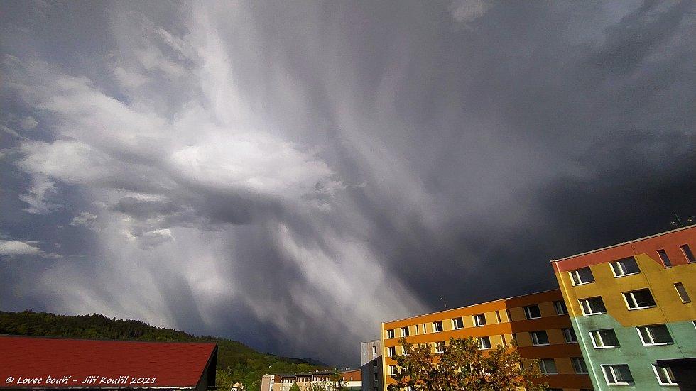 Bouřka 15. 5. 2021