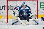 Utkání 9. kola Tipsport extraligy ledního hokeje se odehrálo 1. října v liberecké Home Credit areně. Utkaly se celky Bílí Tygři Liberec a HC Dynamo Pardubice. Na snímku je brankář Roman Will.
