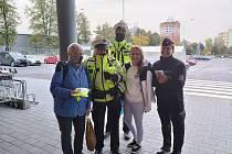 V úterý již od brzkých ranních hodin dohlíželo na dvě desítky policistů na Liberecku a také Českolipsku na chodce a cyklisty.