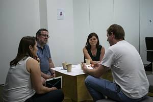 Metodu Story café prezentovali její tvůrci poprvé naživo právě v Liberci.
