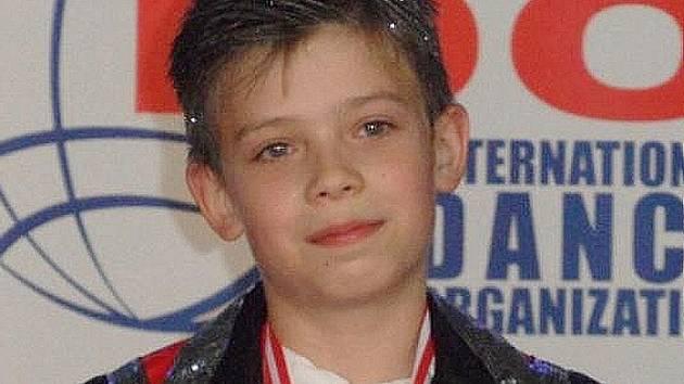 MICHAL VACEK. Mladý tanečník z Taktu Liberec skončil pátý.