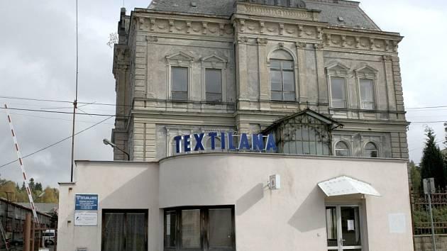 Bývalá Textilana v Novém Městě pod Smrkem