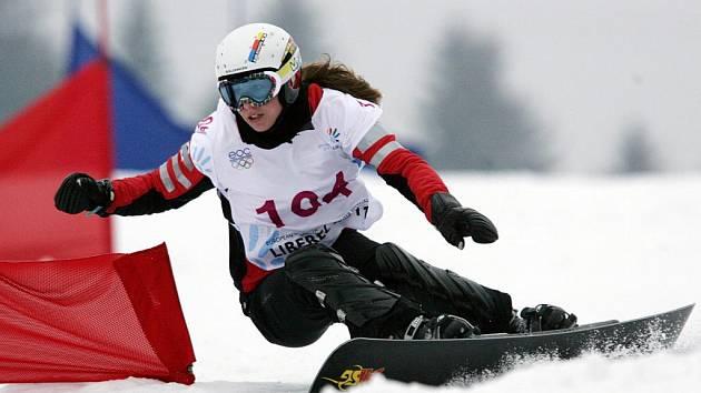 Druhé zlato získala pro ČR na mládežnické olympiádě Ester Ledcká.