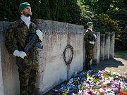 Představitelé Liberce uctili památku obětí druhé světové války.