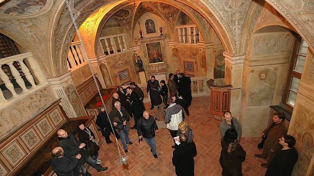 Kaple svaté Barbory na Grabštejně. Ilustrační foto
