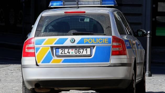 Ilustrační. Policie. Policejní automobil.