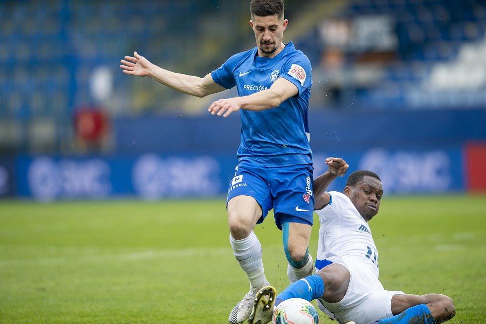 FC Slovan Liberec - FC Baník Ostrava (25.kolo) 0:0