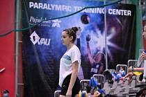 Badmintonistka Soňa Hořínková na MEJ.