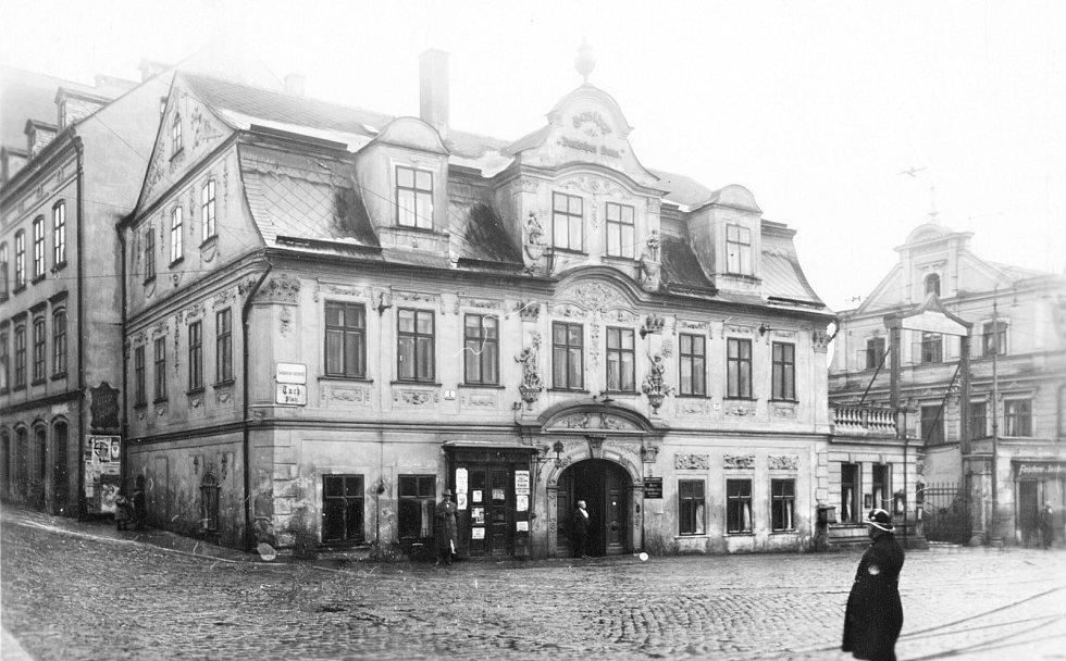 Hotel Německý dům, 1925.