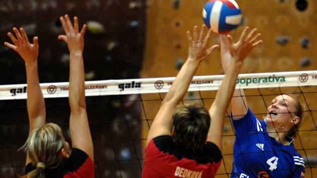 PROHRY. V roce 2008 sehrály volejbalistky Liberce dva zápasy a oba prohrály. Zadaří se proti Přerovu?