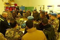 30 JORDÁNSKÝCH VOJÁKŮ přijelo do Liberce a Jablonce nad Nisou na školení.
