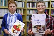 Svaz knihovníků ČR pravidelně oceňuje nejlepší čtenáře.
