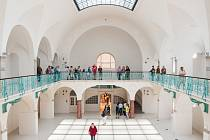 Město otevřelo veřejnosti poprvé budovu historických lázní.