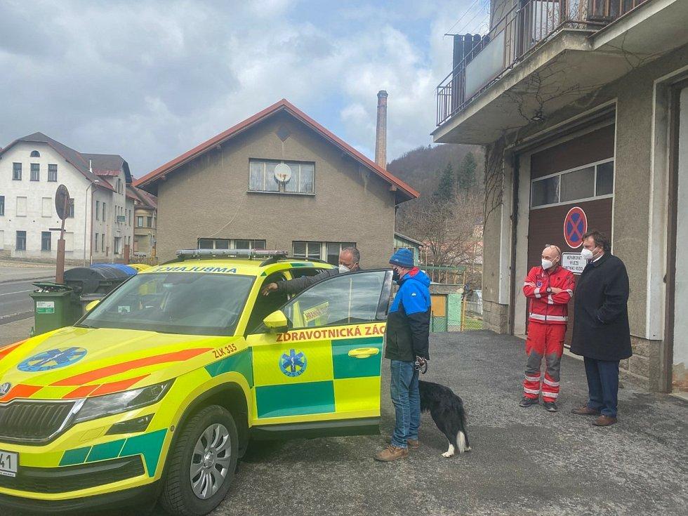 Záchranka se dočkala obnovy vozového parku.