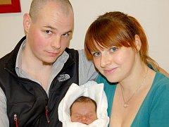 Mamince Daniele Novotné z Liberce se dne 22. října v liberecké porodnici narodil syn Tonda. Měřil 49 cm a vážil 3,45 kg.