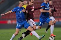 Slovan hrál na Spartě