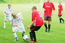 Ve fotbalové divizi starších žáků remizoval Slovan Liberec B na Letce se Svitavy 1:1.