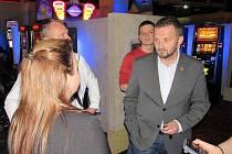 PRIMÁTOR Tibor Batthyány při obhlídce libereckých kasin.