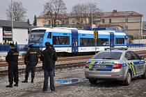 PREVENTIVNÍ AKCE POLICIE na kolejích.