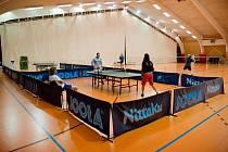 Stolní tenis v areálu Sport Parku Liberec.