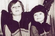 JANA se svým bratrem Josefem, zpěvákem od Kabátů.