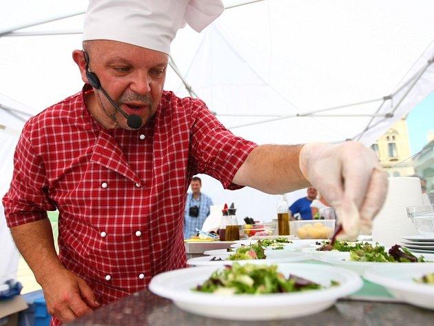 Přehlídka jídel Gastrotour má za sebou svou libereckou premiéru.