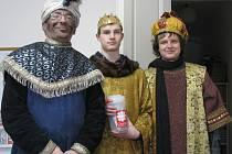 Tři králové dorazili i do redakce Libereckého deníku.