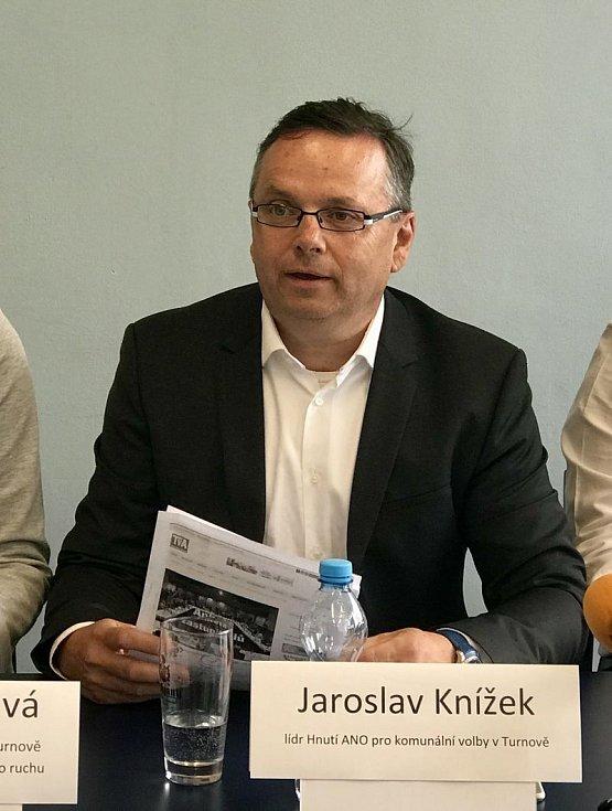 ANO. Jaroslav Knížek.