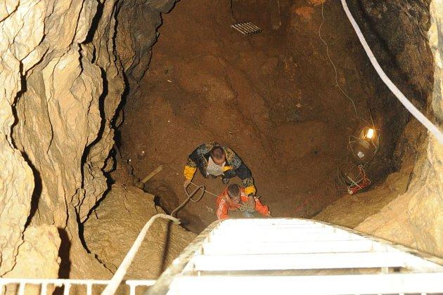 Jeskyně v Hanychově se otevřela veřejnosti.