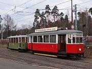 Historické tramvaje v Liberci.