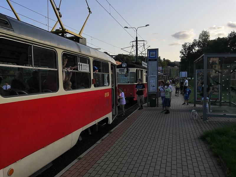 Konec metrovky v Čechách.