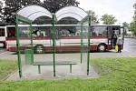 Rekonstrukce  autobusového nádraží v Chrastavě v roce 2009.