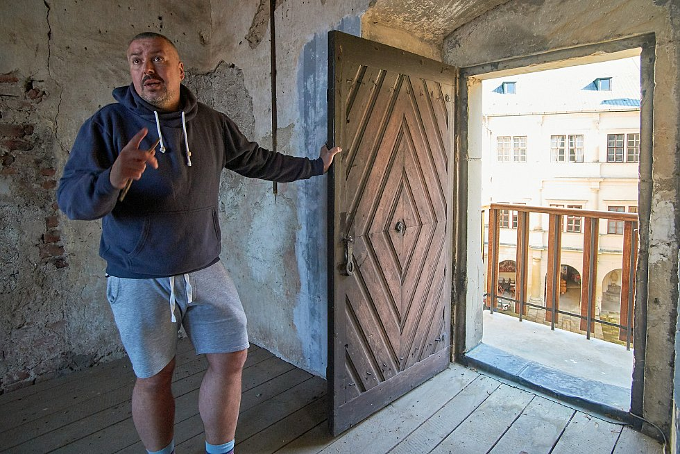 Kastelán Hrubého Rohozce Jiří Holub.