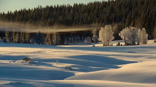 Zimní počasí. Ilustrační fotografie.