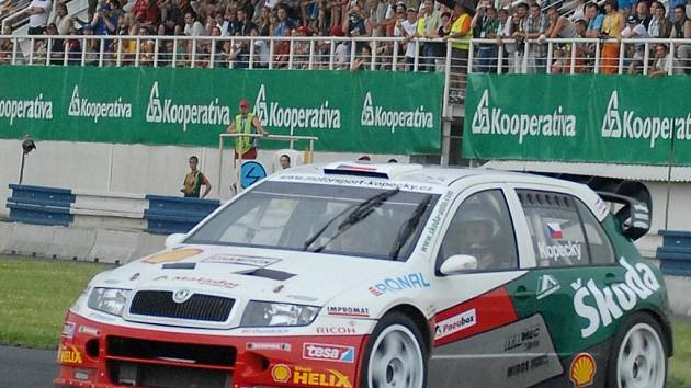 Nejsledovanější vůz byla Škoda Fabia WRC Jana Kopeckého.