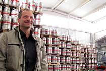 Sládek Pivovaru Svijany Petr Menšík dobře ví, že rozšiřovat produkci piva nejde bez investic do technologií.