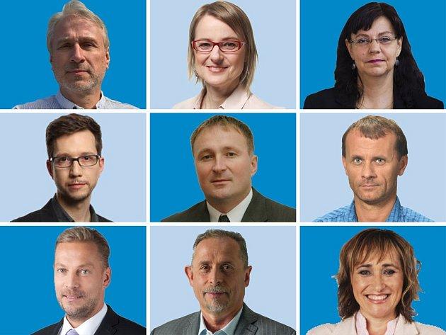 Lídři politických stran.