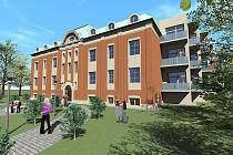 Vizualizace nového hotelu ve Frýdlantu