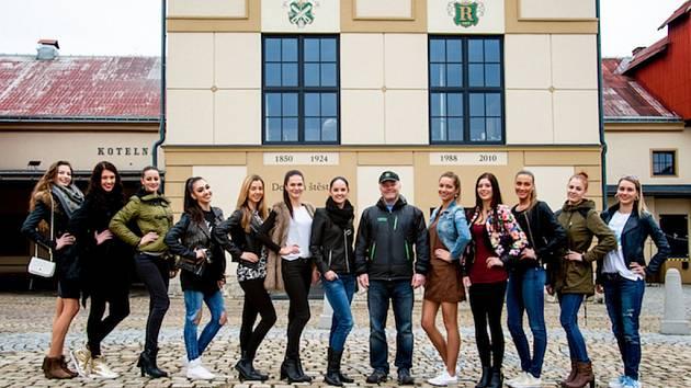 Finalistky Miss Libereckého kraje.