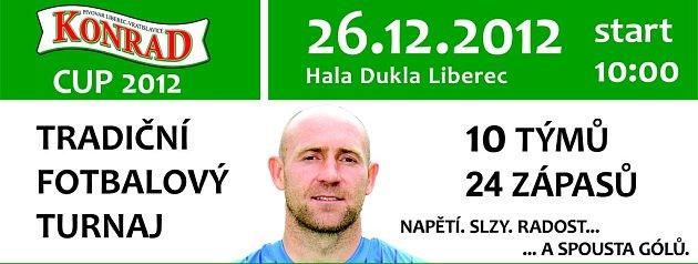 Plakát na Konrád cup 2012