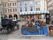 Liberecké náměstí se proměnilo v předválečné Německo.
