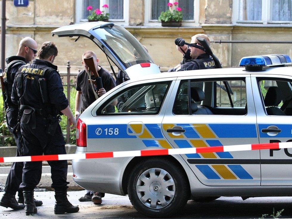 Dětský den pro děti zaměstnanců bezpečnostních složek uspořádalo Krajské ředitelství policie Libereckého kraje v Liberci 6.6.2014.