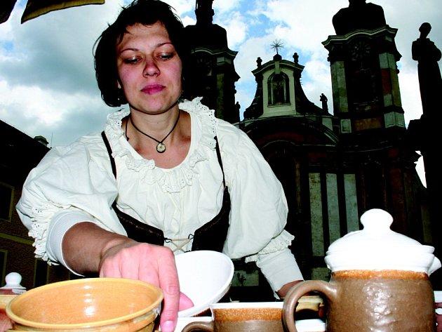 Svou keramiku prodává také Martina Nováková z Frýdlantu.