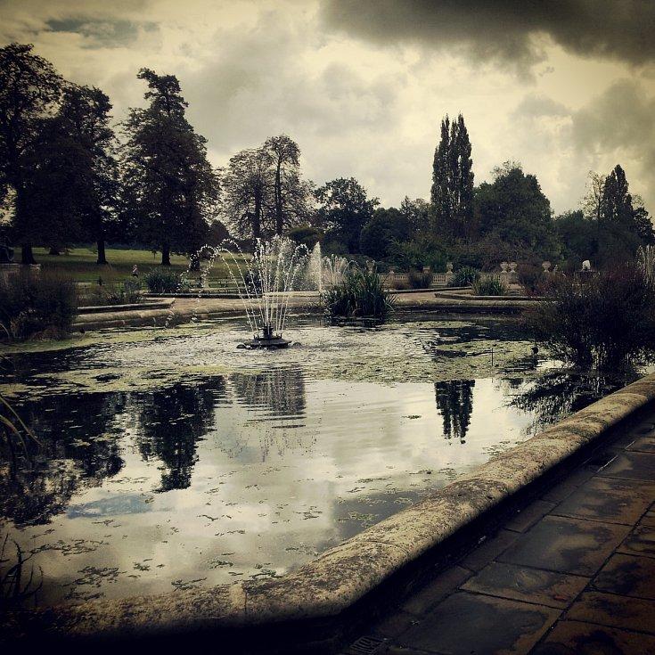 Londýn. Kensingtonské zahrady.