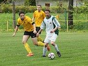 Fotbal - zápas Nová Ves - Vratislavice 2:4