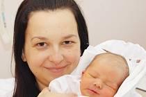 Mamince Marcele Šandové z Liberce se dne 24. prosince v liberecké porodnici narodil syn Petr. Měřil 50 cm a vážil 3,3 kg.
