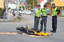 NEHODY MOTORKÁŘŮ často končí tragicky. Na Liberecku zatím policisté evidují dvě nehody.