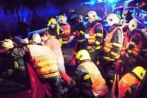 Hromadná nehoda v Jeřmanicích